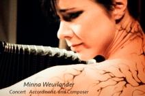 Minna Weurlander concert accordion
